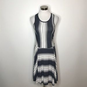 Romeo + Juliet Couture Striped Fit & Flare Dress